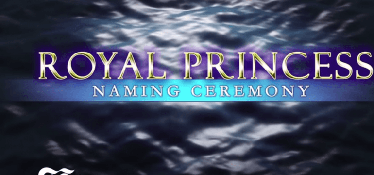 royal princess naming ceremony