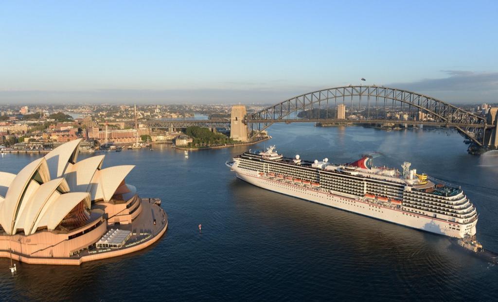 Carnival Legend in Sydney