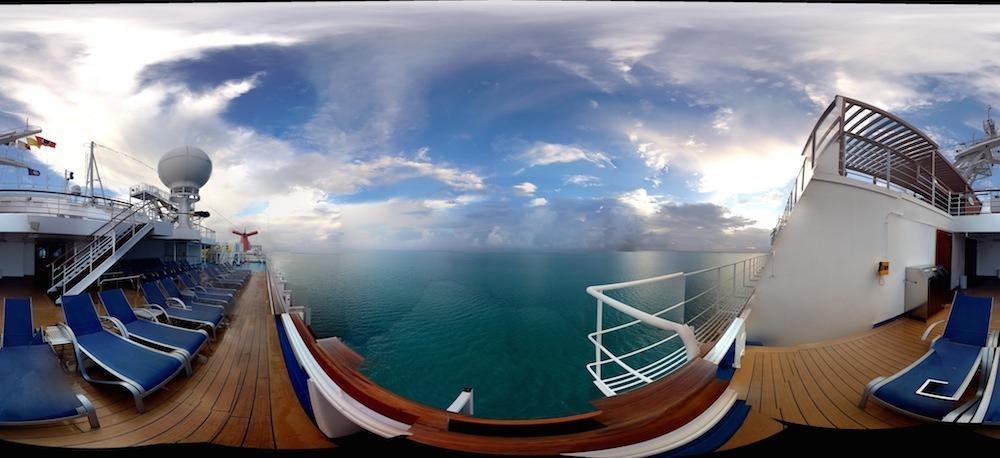 Carnival Dream cruise ship panorama