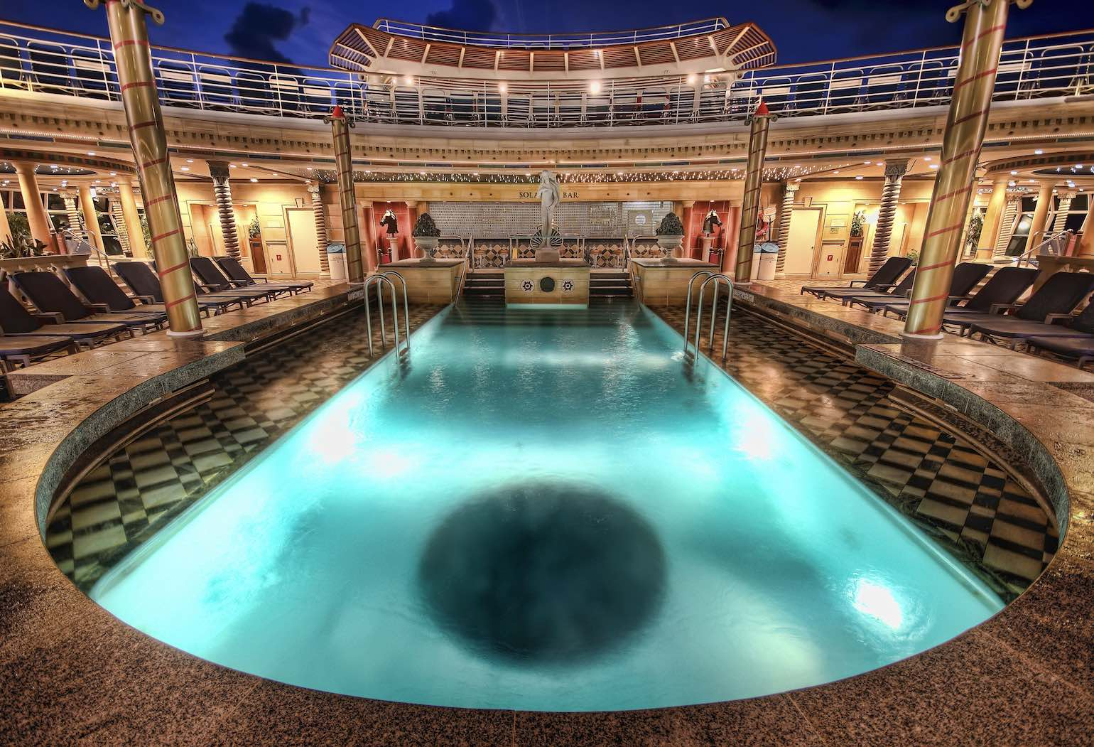 Caribbean cruise adult only pool