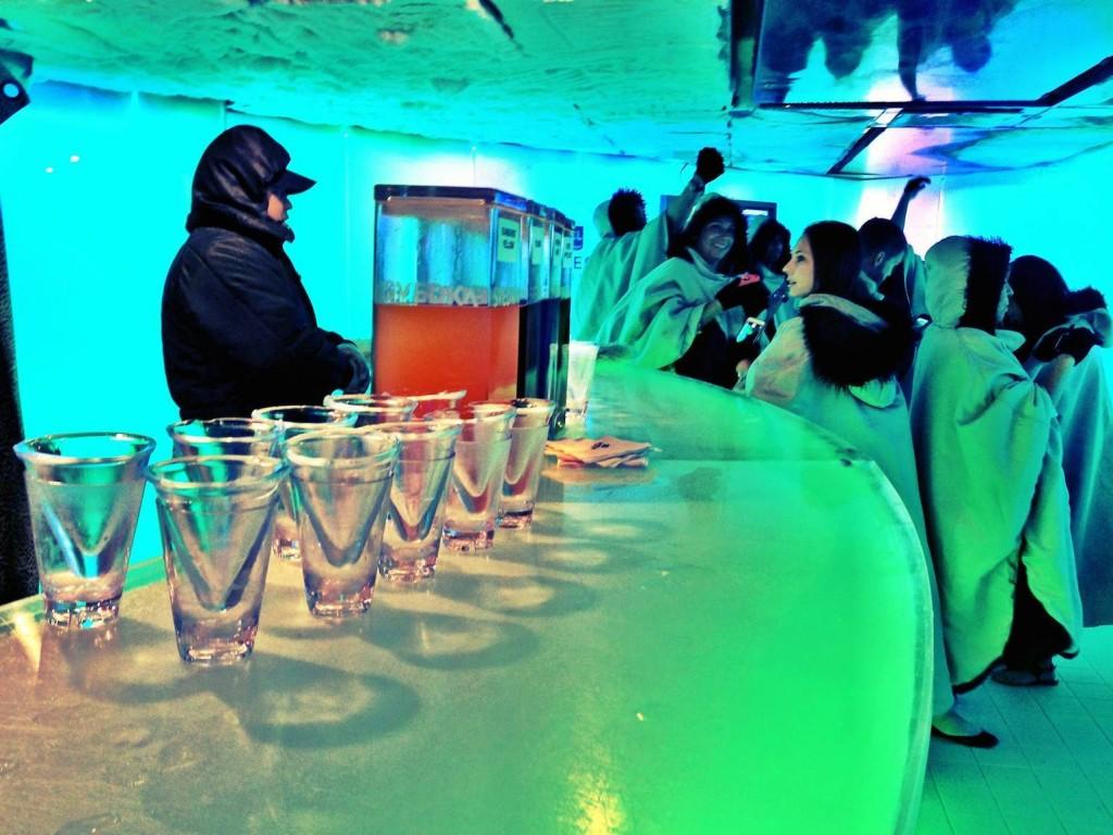 Norwegian Epic ice bar