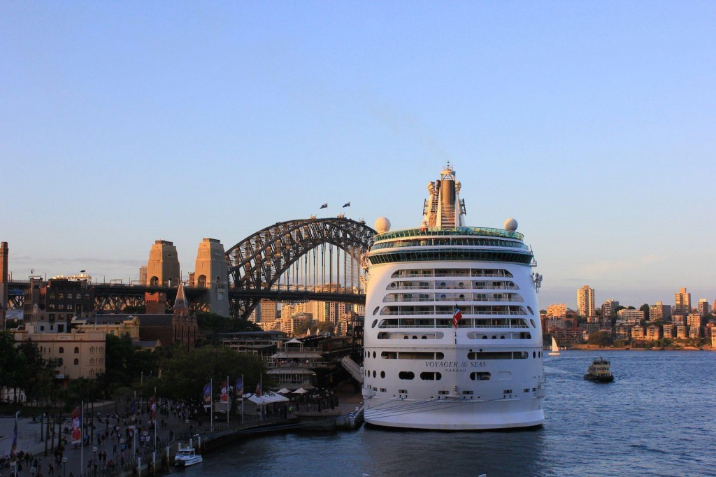 Voyager of the Seas in Sydney