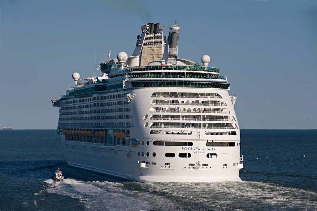 Voyager of the Seas in the Gulf of Mexico