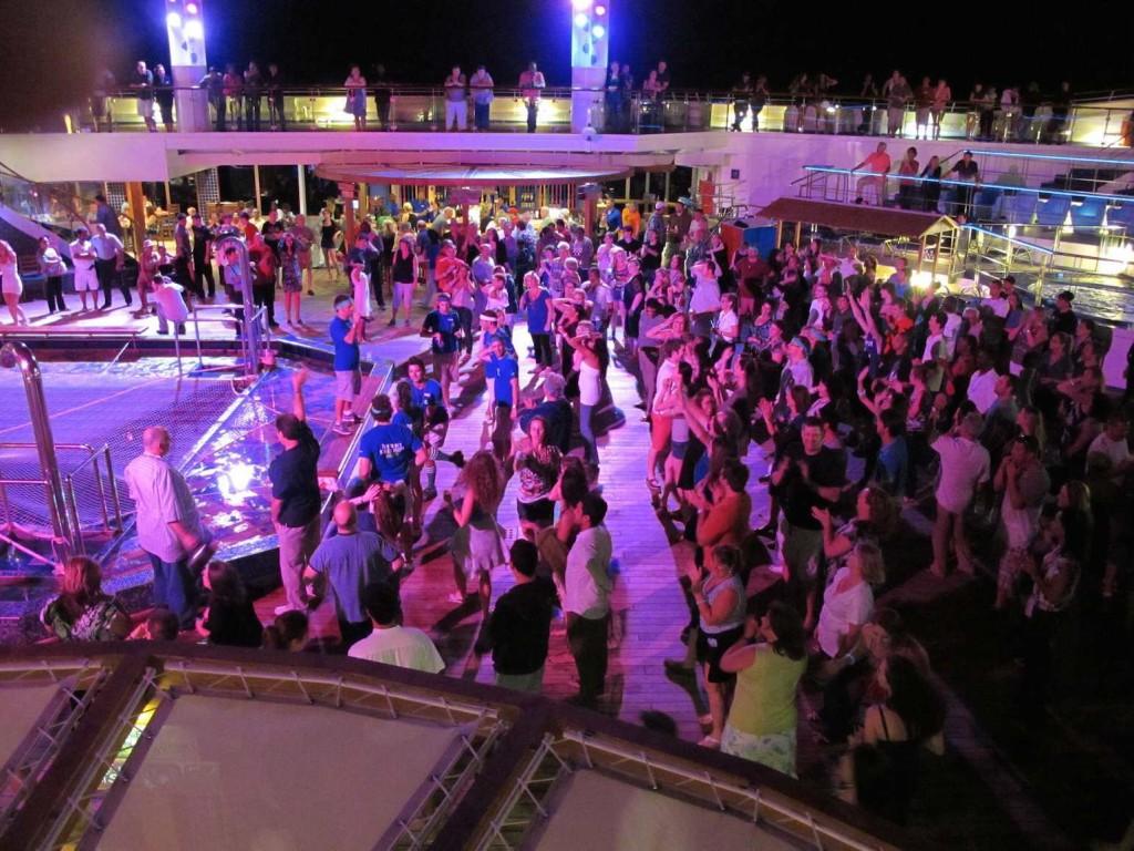 blue iguana deck party