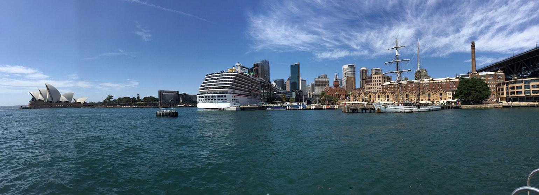 Carnival Spirit in Sydney