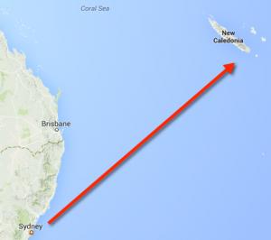 Carnival Spirit trip to New Caledonia