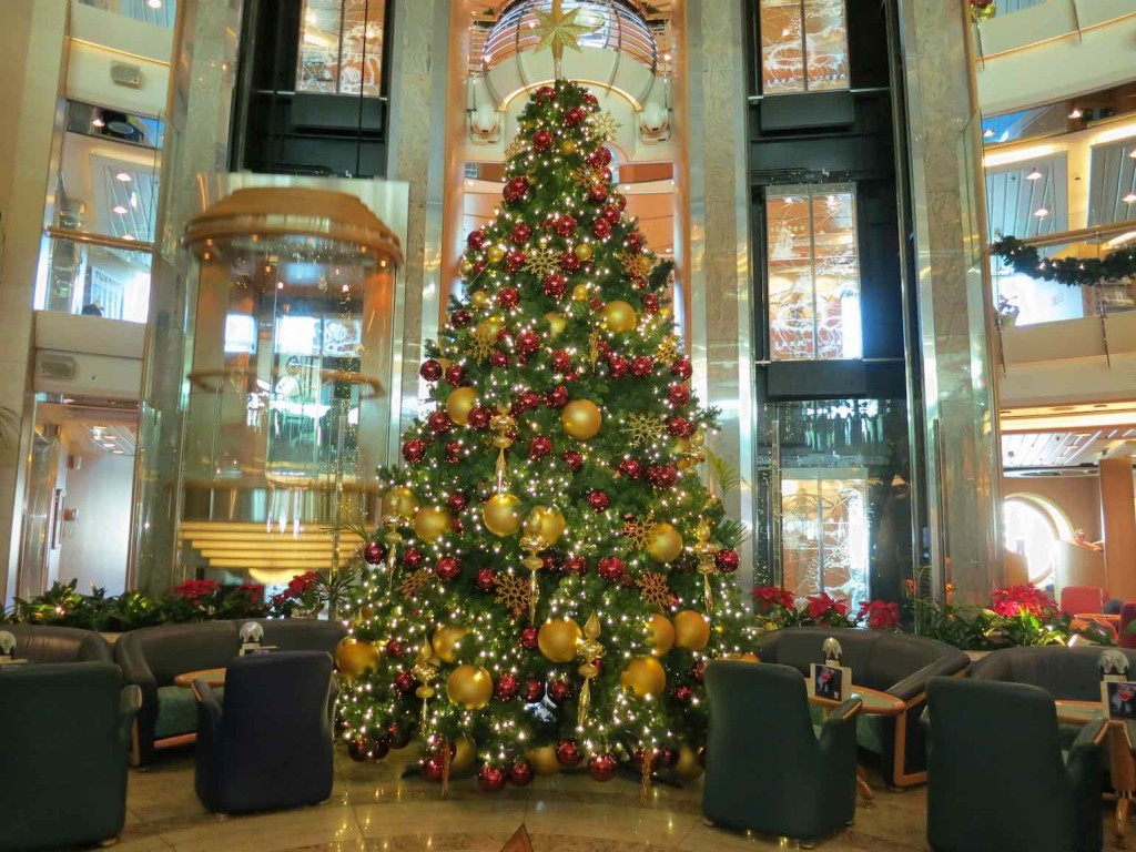 Christmas on the Brilliance of the Seas