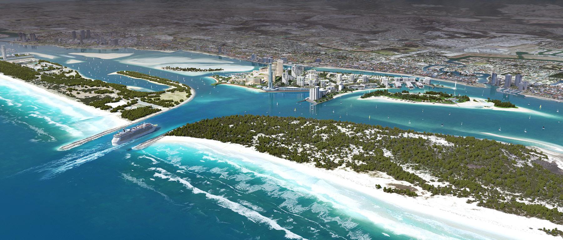 Gold Coast cruise terminal