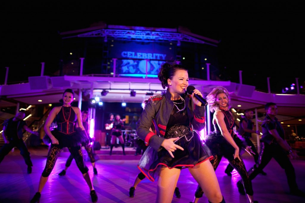 Celebrity Silhouette Celebrity Rox Party