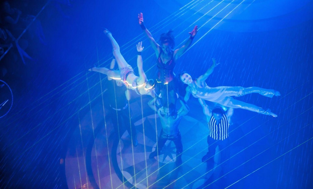 Pacific Jewel Pacific Cirque dancers