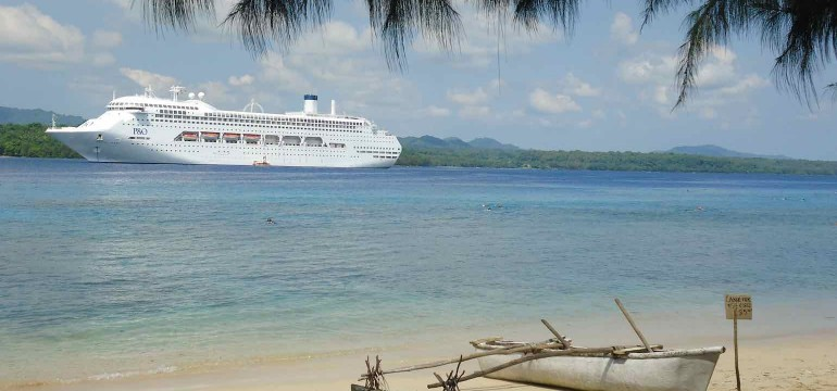 Pacific Jewel in South Pacific