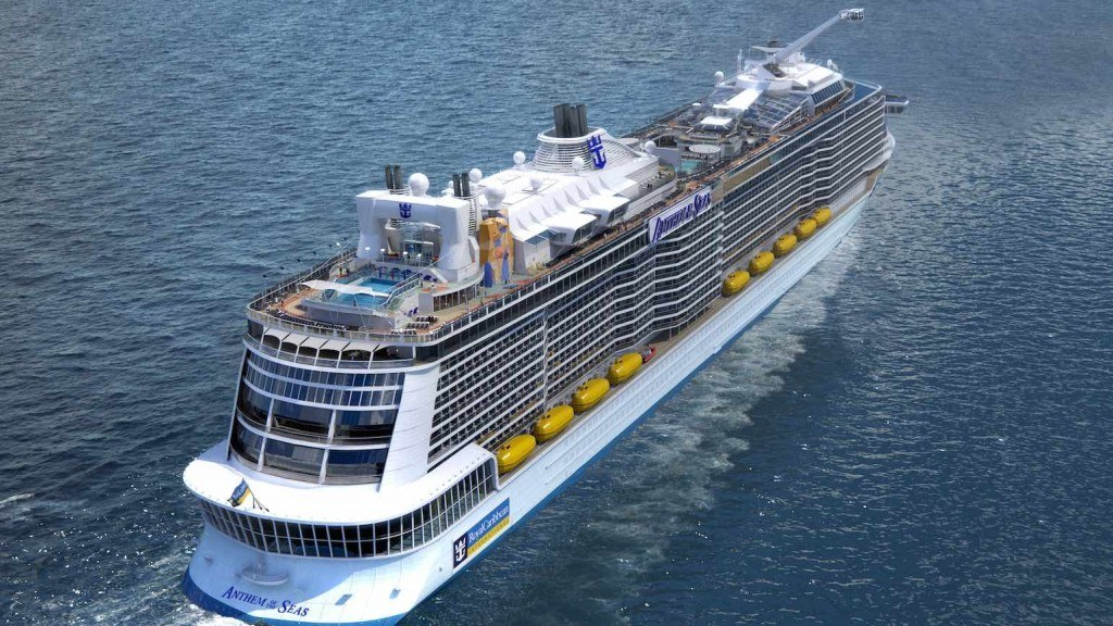 Anthem of the Seas stern