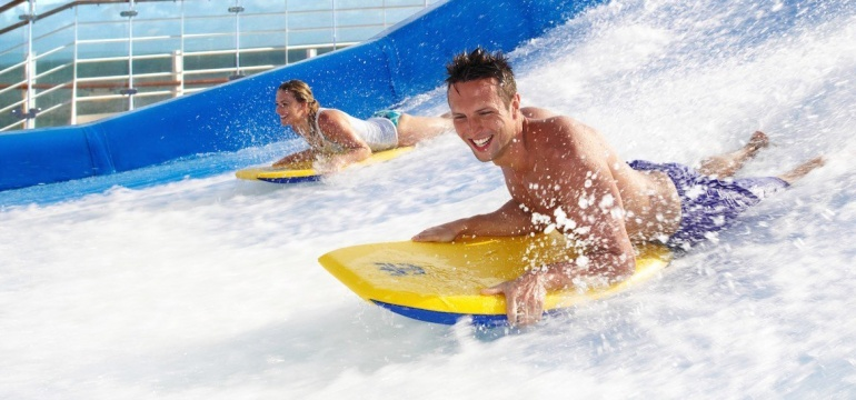 FlowRider Allure of the Seas