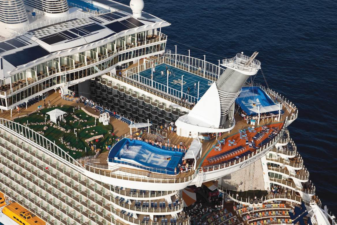Which Cruise Ships Have FlowRider? Oasis Of The Seas