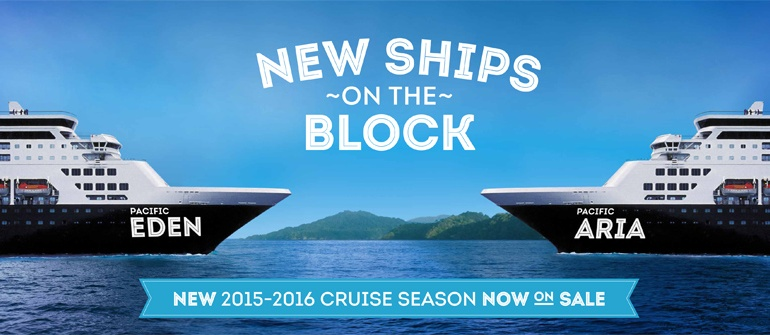 Pacific Aria cruises 2015