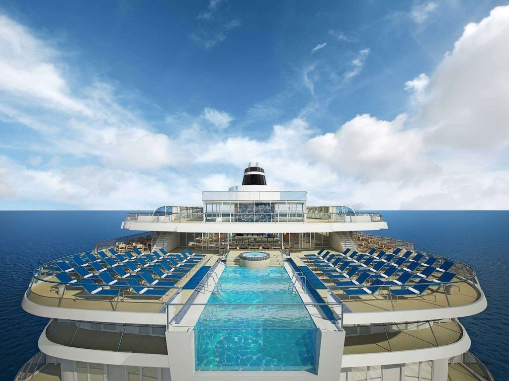 Viking Star infinity pool