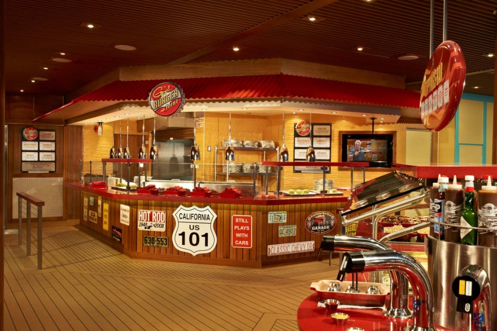 Carnival Breeze Guy's Burger Joint