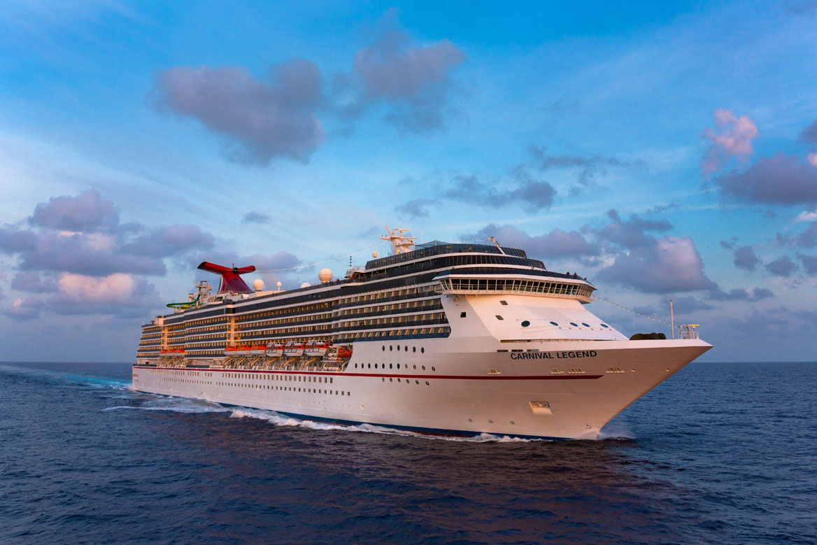 Carnival Legend sunset