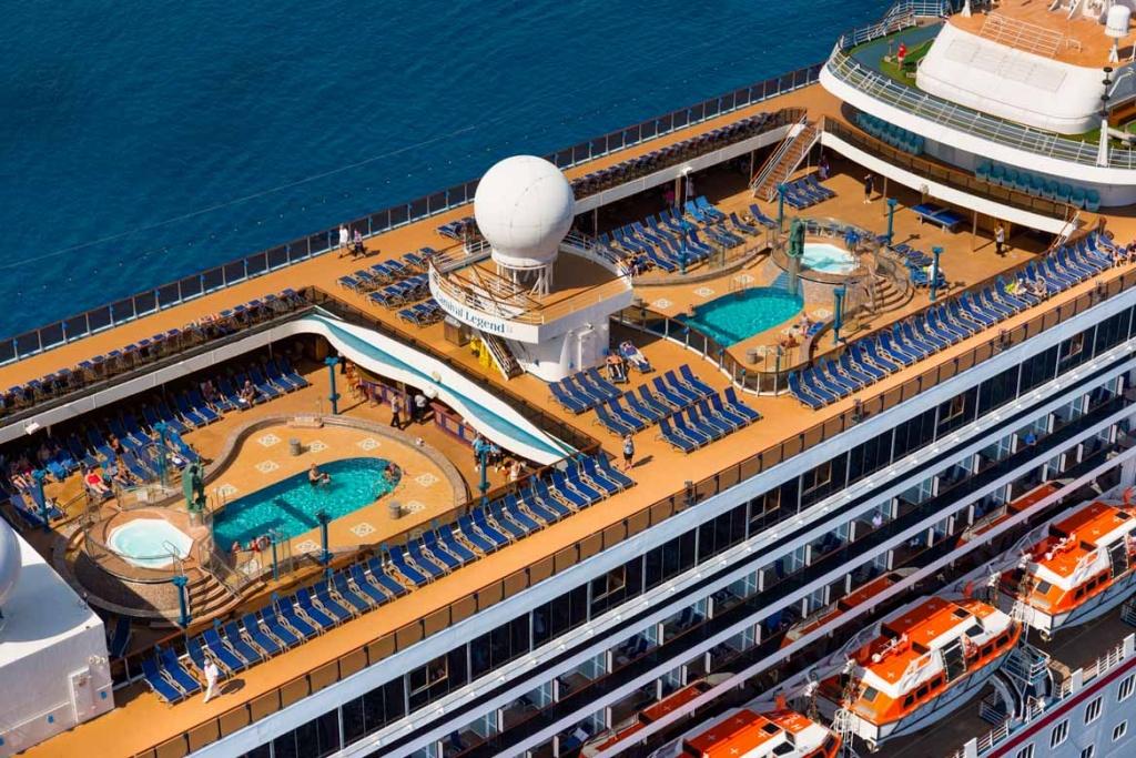 Carnival Legend top deck