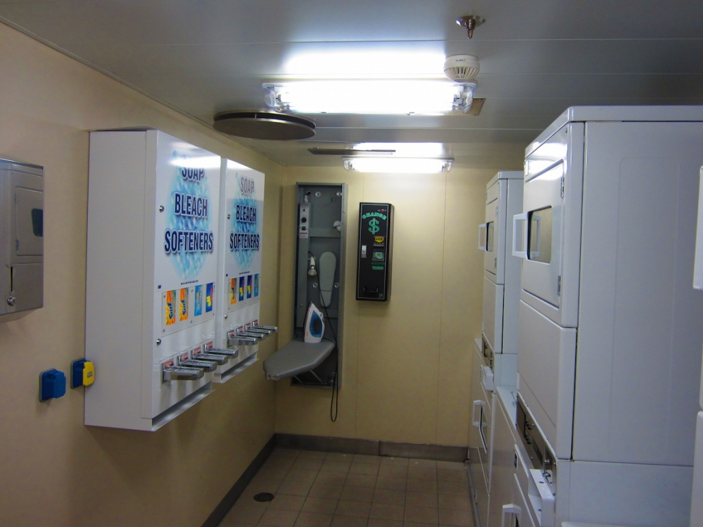 Carnival Magic laundry room