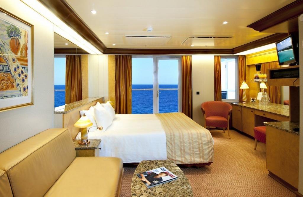 Carnival Spirit Premium Balcony cabin