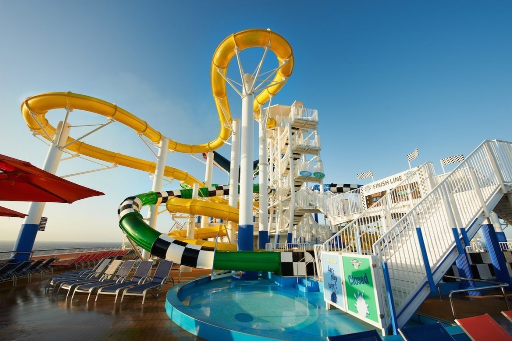 Which Cruise Ships Have Water Slides