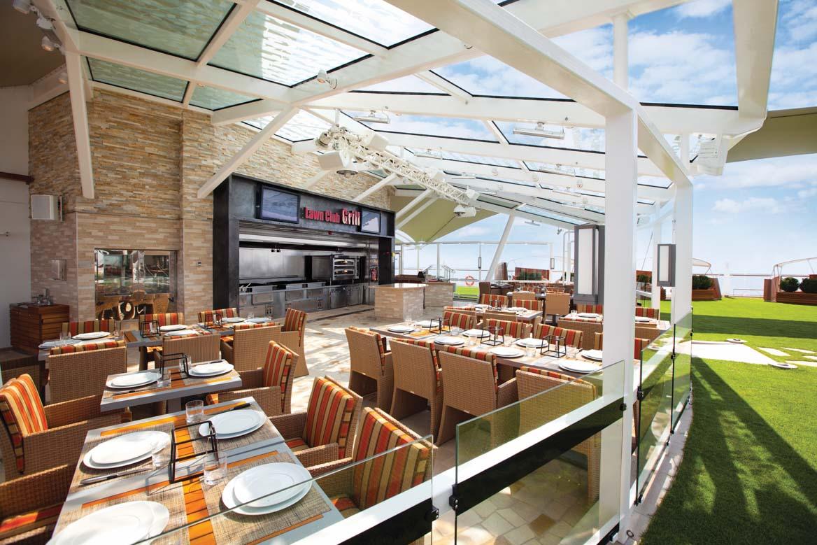 Celebrity Silhouette Club Grill restaurant