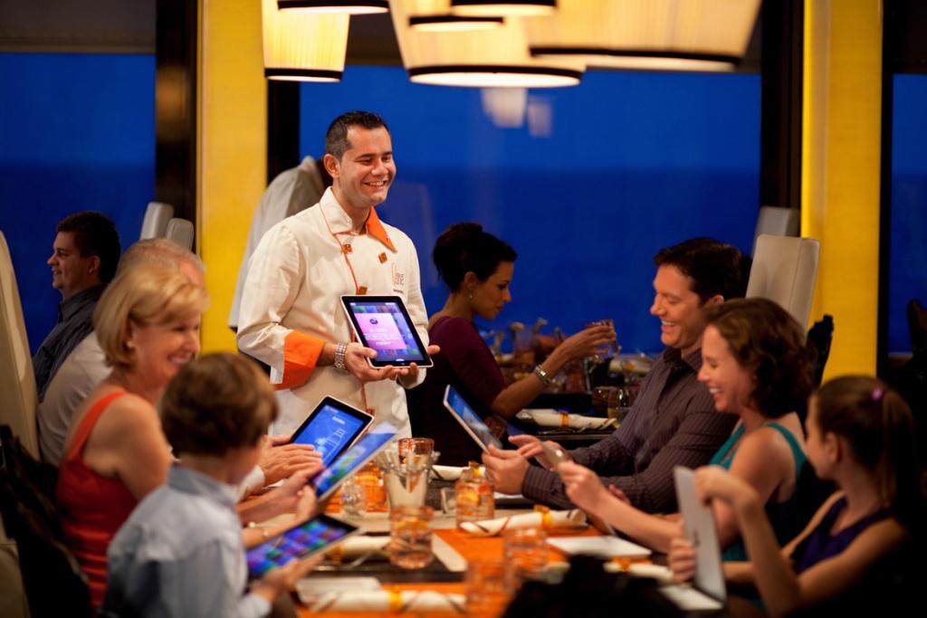 Celebrity Silhouette Qsine restaurant