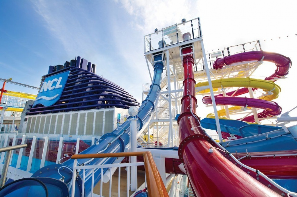 Norwegian Breakaway Free Fall
