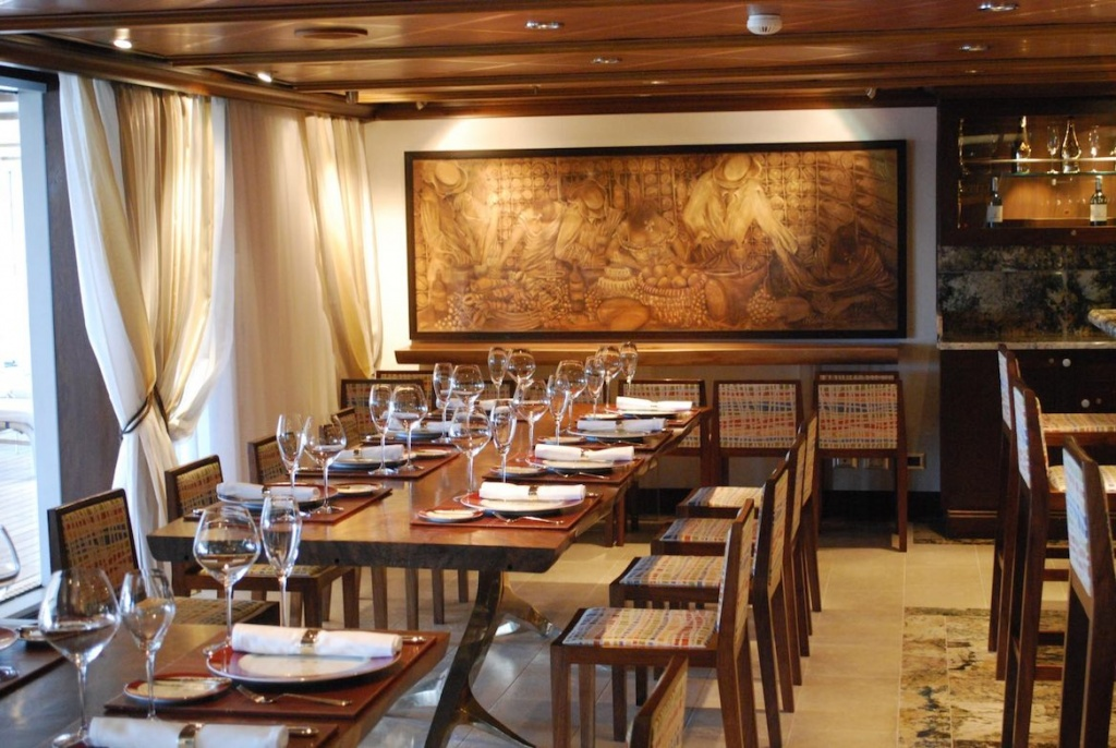 Oceania Marina wine pairing restaurant