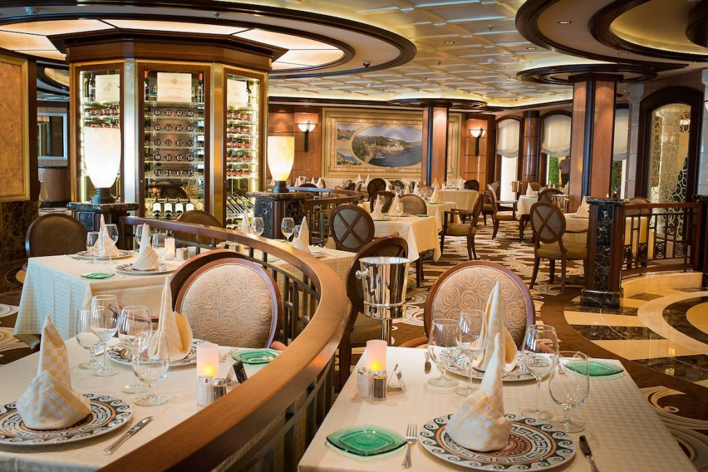 Royal Princess Sabatini's restaurant