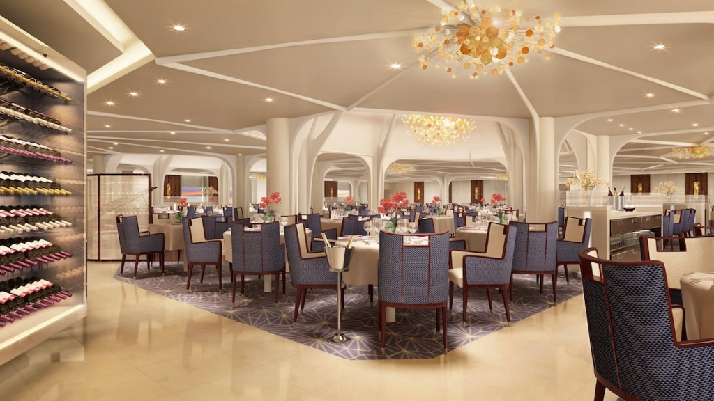 Seabourn Encore Main-Dining Deck-4-2