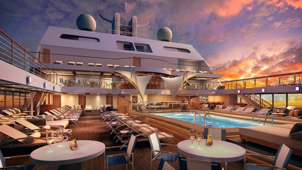 Seabourn Encore Main Pool Deck-9