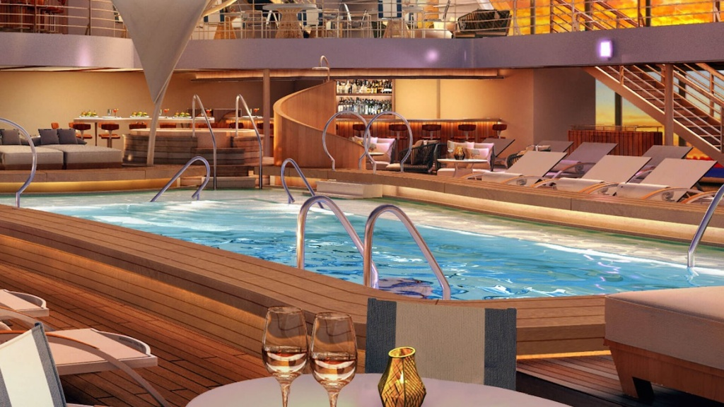 Seabourn Encore Patio-Bar Deck-9-Main-Pool