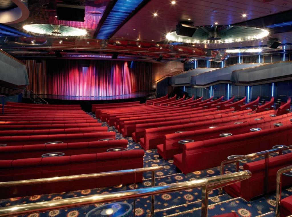 Celebrity Century Onboard Theater