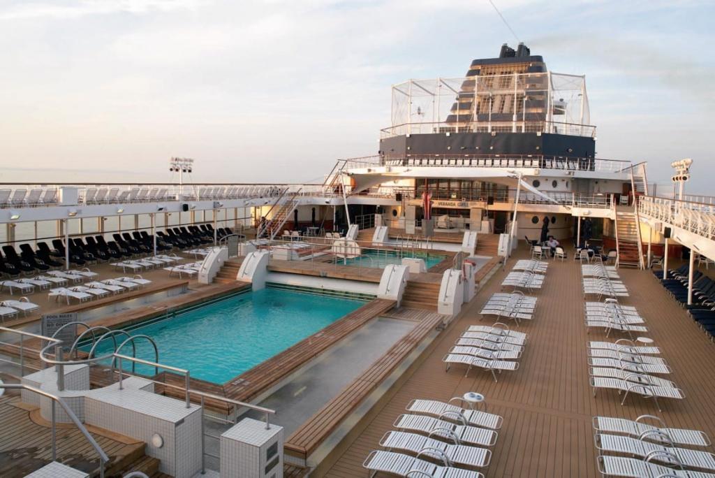 Celebrity Century Pool Deck