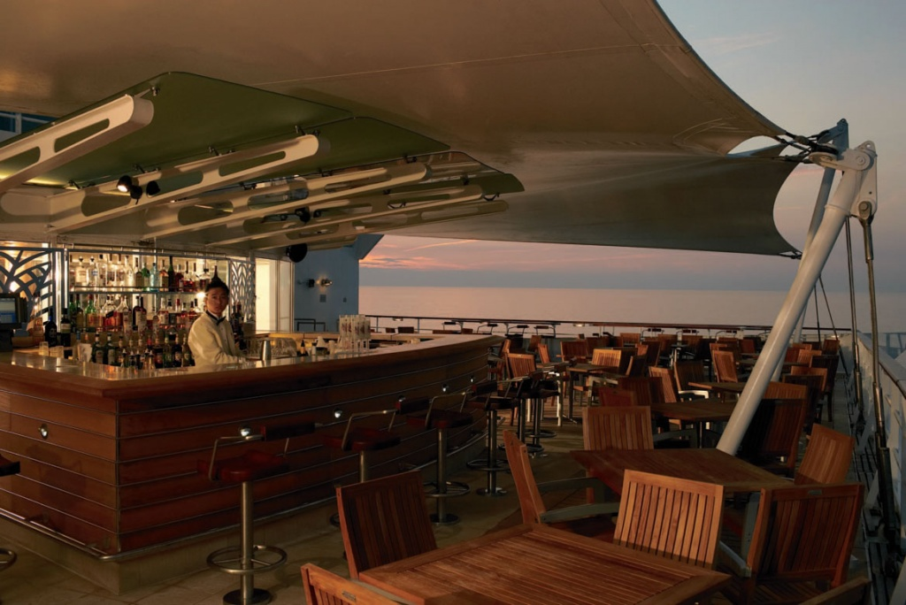 Celebrity Century Sunset Bar