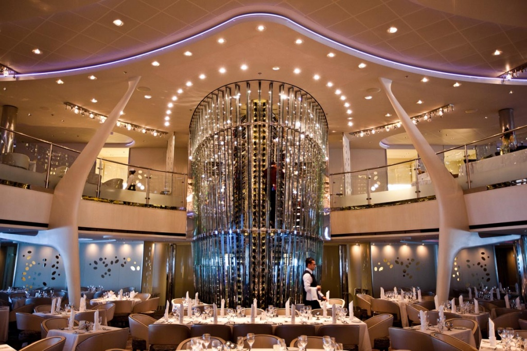 Celebrity Solstice Grand Epernay tower
