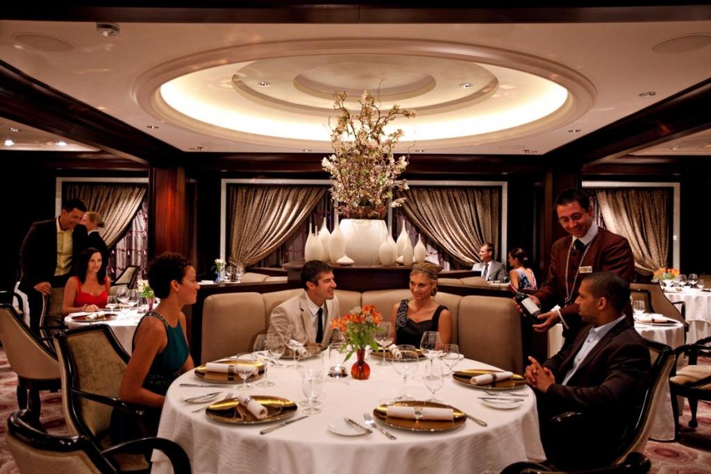 Celebrity Solstice Murano restaurant