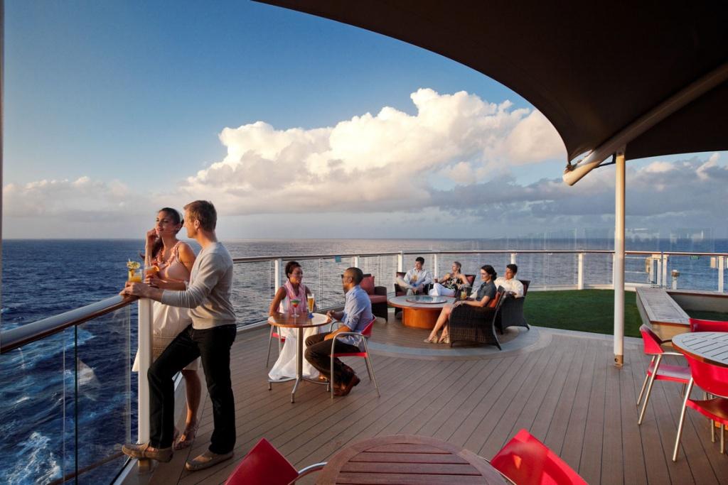 Celebrity Solstice Sunset Bar