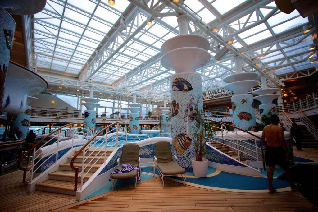 Diamond Princess Calypso Reef and Pool