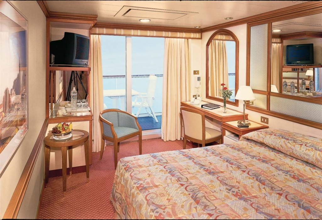 Diamond Princess Oceanview Double with Balcony