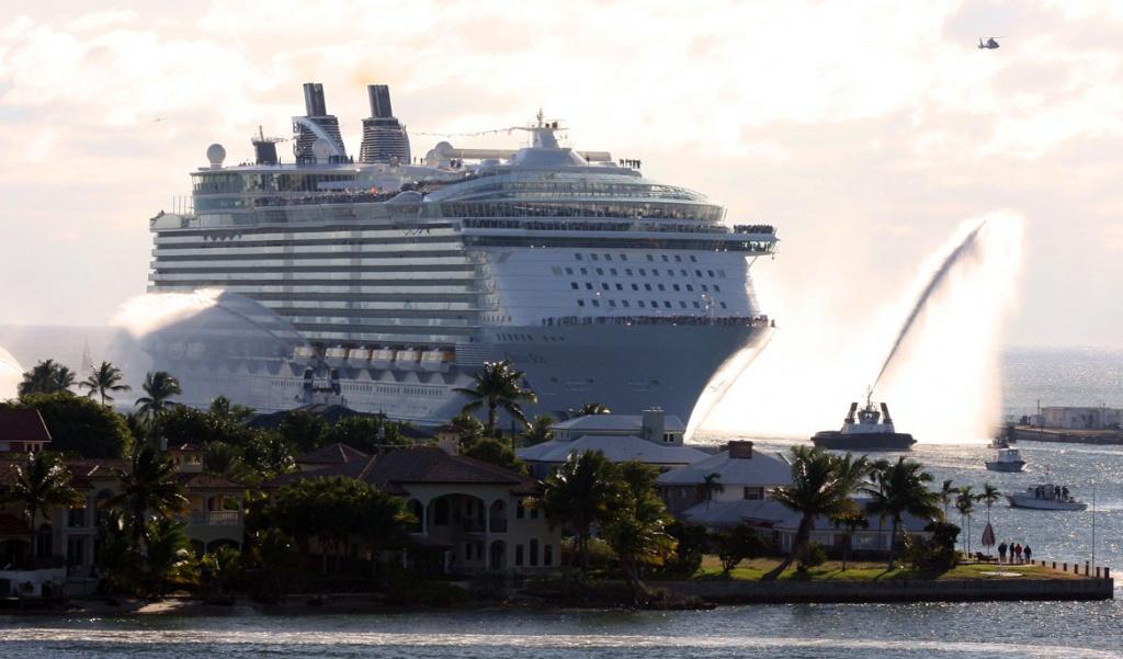 Oasis of the Seas in Fort Lauderdale
