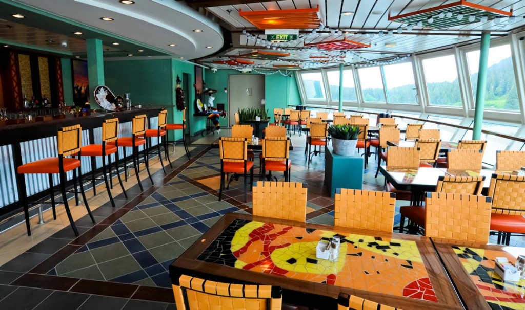 Radiance of the Seas Ritas Cantina