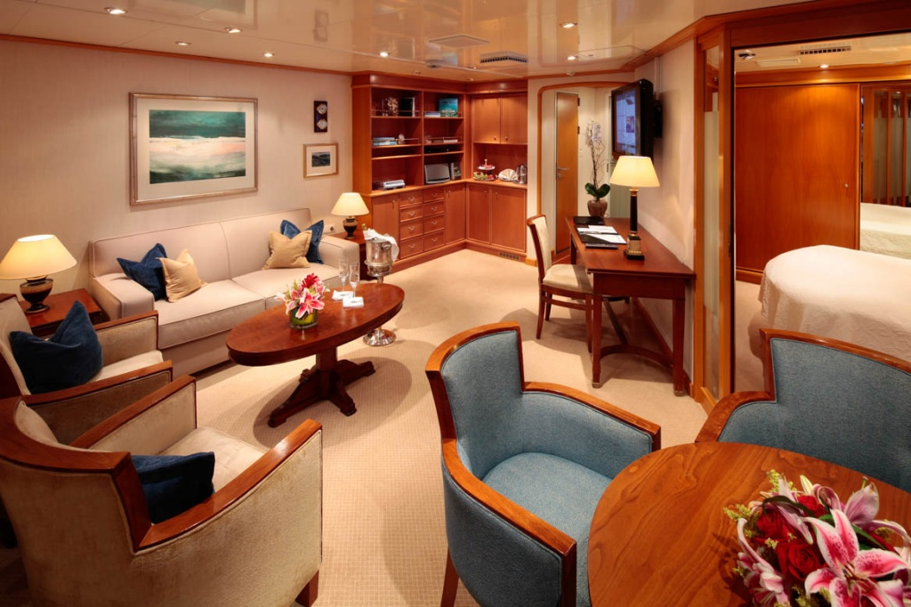 SeaDream Yacht Club Owners Suite