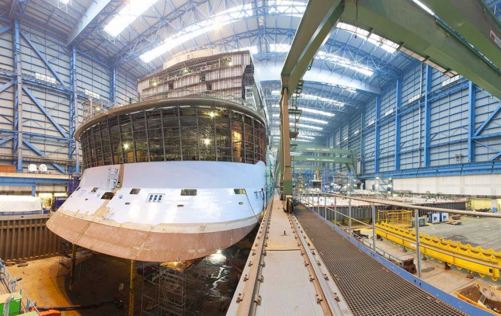 How Cruise Ships Are Built - Cruise ship builders