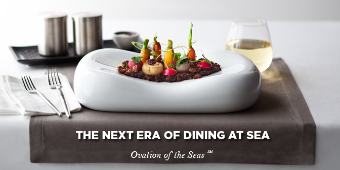 Ovation of the Seas dining