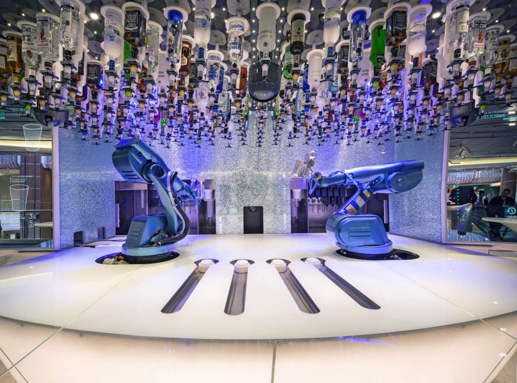 Ovation of the Seas robot bar copy