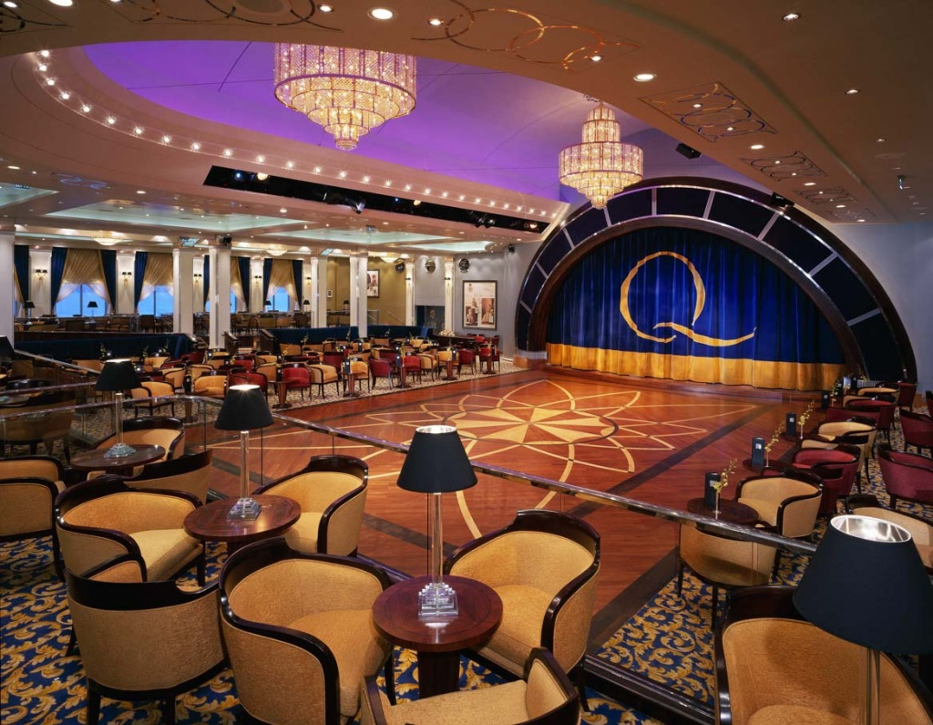 Queen Mary 2 Ballroom