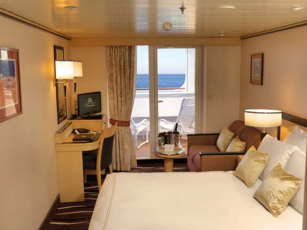 Queen Mary 2 Premium Balcony Stateroom